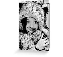 Who`s Afraid of the Big Bad Wolf Greeting Card