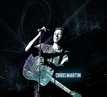 Chris Martin by daanielasm