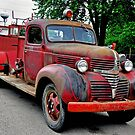 1940 Fire Truck by gharris