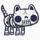 Bones, the skeleton hackycat by hackycat