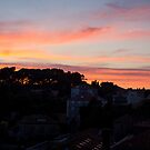 Sunset over Dubrovnik by Philip Kearney