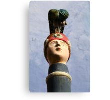 Portmeirion Petrol pump Canvas Print
