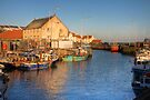 Pittenweem Harbour by Christine Smith