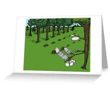 The Modern Tree Farm Greeting Card