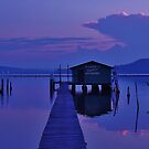 The Oyster shed,2 by Len  Gunther
