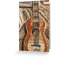 """Still Life Guitar"" by Carter L. Shepard Greeting Card"