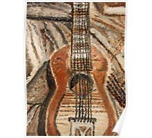 """Still Life Guitar"" by Carter L. Shepard Poster"
