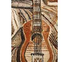 """""""Still Life Guitar"""" by Carter L. Shepard Photographic Print"""