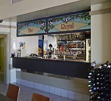 Bar in the Gunnedah Hotel, NSW, Australia. by Margaret  Hyde