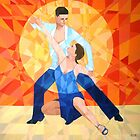 Prismatic Latin Dancers 2013 by Joseph Barbara