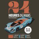 Le Mans Porsche 917 (dark t-shirt) by robgould1972