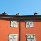 Red Building in Udine by jojobob