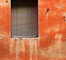 Window in Red Wall by jojobob
