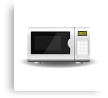 Microwave Canvas Print