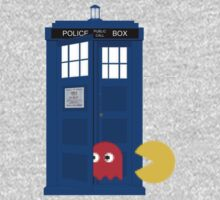 Dr. Who Tardis Pacman T Shirt by Fangpunk