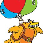 Balloon Bird by johnneyer