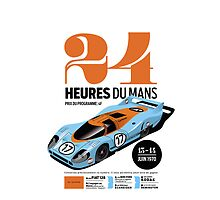 Le Mans Porsche 917 (white) by robgould1972