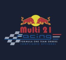 MULTI 21 Red Bull Logo - Sebastian Vettel and Mark Webber by oawan