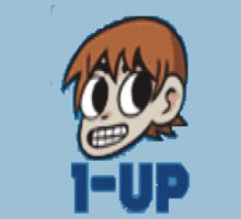 Scott Pilgrim 1-UP by Indiana406