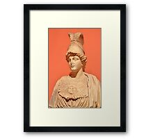 Goddess Athena Framed Print