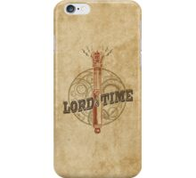 Steampunk Sonic Screwdriver iPhone Case/Skin