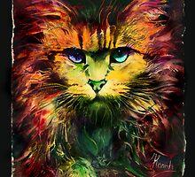 Schrödinger's cat by Anna Ewa Miarczynska