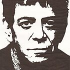 Lou Reed by Ant-Acid