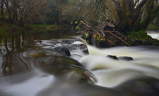 Dartmoor: The River Teign by Rob Parsons