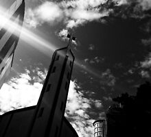 One small church tower. by julianpix
