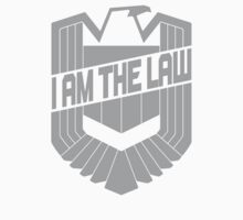 Custom Dredd Badge Shirt - (I Am The Law) by CallsignShirts