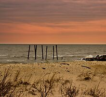 Sunset Beach by GalleryThree