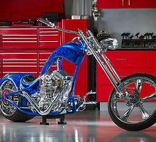 George's Custom Chopper 'Pitbull' by HoskingInd