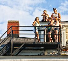 Up On The Roof by Mikell Herrick