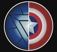 Arc Reactor + Captain's Shield by SoniBlack