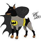 Doberman Batdog by meow-or-never10