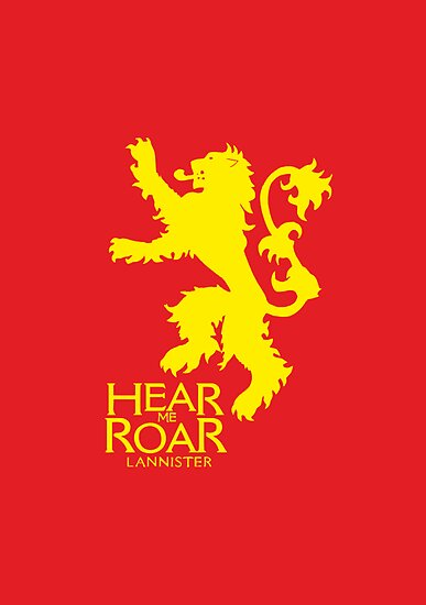 Game of Thrones - Lannister house v2 by blackstarshop