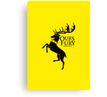 Game of Thrones - Baratheon house v2 Canvas Print