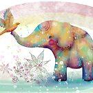 The Indigo Elephant by © Karin  Taylor
