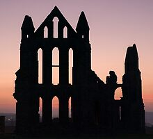 Whitby Abbey at Dusk by Greg Artis