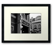 "Disneyland Fire Department ""105"" Framed Print"