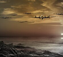 B17 Dusk Raid by J Biggadike