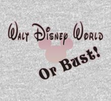 Walt Disney World or bust! - Pink by Margybear