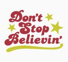 Don't Stop Believin' Kids Clothes