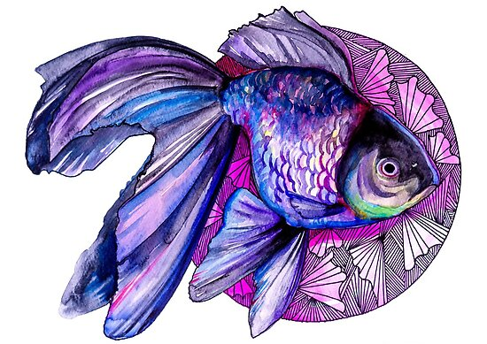 Goldfish by Slaveika Aladjova