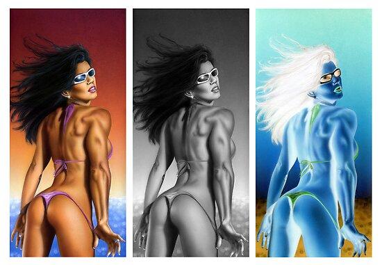 Triple brazilian by JavierMontero