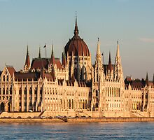 The Hungarian Parliament Building by Balint Takacs