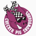 Checker Pig - Circle by illicitsnow