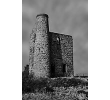 Giew Mine Cripplease Cornwall Photographic Print