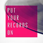Records [Pink] by GalaxyEyes