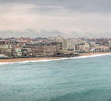 Biarritz Skyline - France by Joshua McDonough Photography